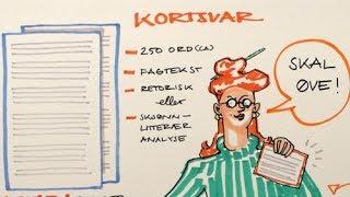 Eksamenstips i norsk - hvordan skrive kortsvar