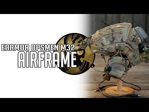 MI CASCO DE AIRSOFT · TMC Airframe + Earmor Opsmen m32