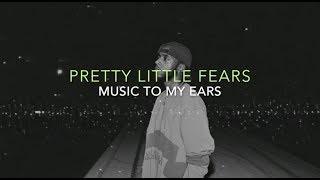 Pretty Little Fears- 6lack ft. J Cole (Clean Lyrics)