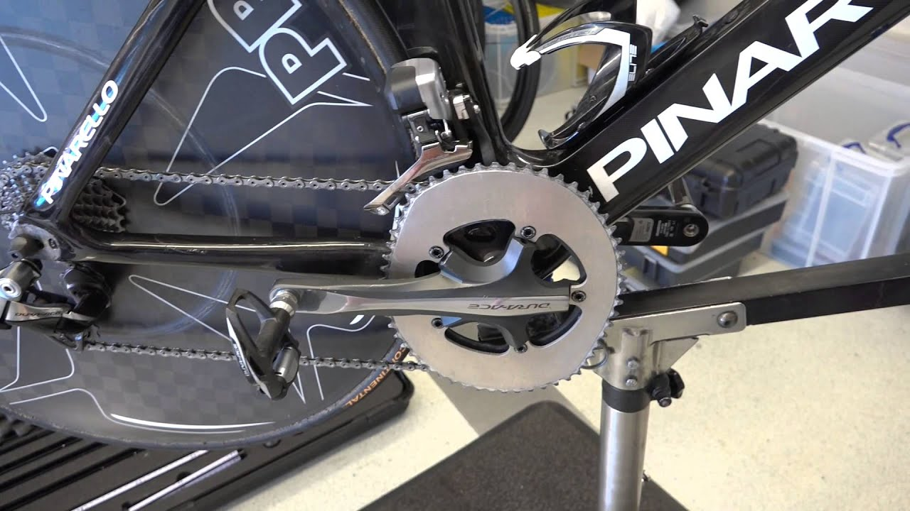 Chris Froome S Pinarello Bolide Time Trial Bike Youtube