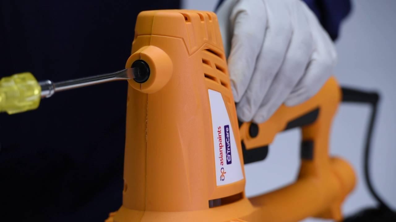 Asian Paints Trucare Handheld Sander Series H 01 Carbon Brush Replacement Maintenance Video Youtube