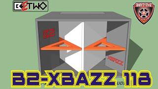 "BOX SPEAKER 18"" B2-XBAZZ 118"