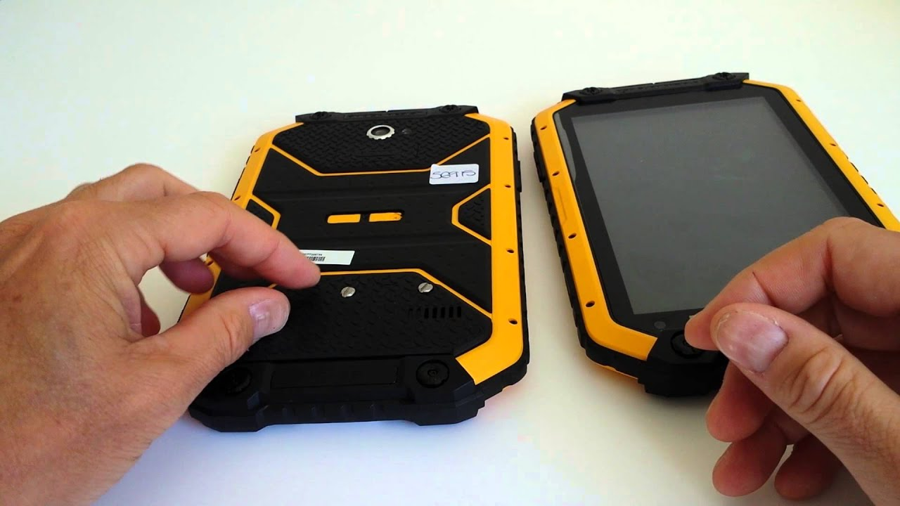Ruggear Rugpad Rugged Android 4 Tablet 7 Quot 3g Ip67 Mil