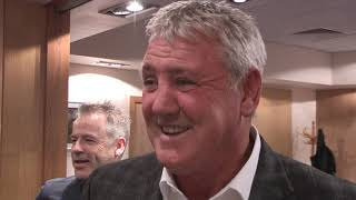 MY FIRST INTERVIEW WITH NEW SHEFFIELD WEDNESDAY BOSS STEVE BRUCE