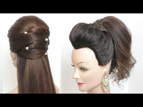 2 Quick And Easy Hairstyles For Long Medium Length Hair