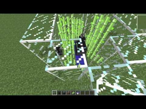Minecraft Tekkit/Technic EMC Generator (Sugar Cane) 1 Diamond a Second!!!