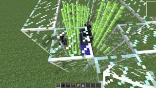 Minecraft Tekkit/Technic EMC Generator (Sugar Cane) 1 Diamond a Second!!!