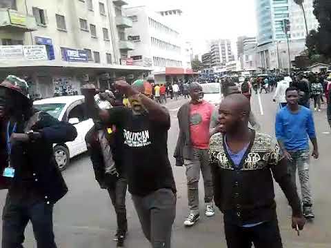 Zimbabwe Solidarity Rally: Protests In Harare