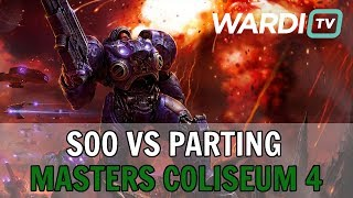 soO vs PartinG (ZvP) - $10k Masters Coliseum 4 Grand Finals