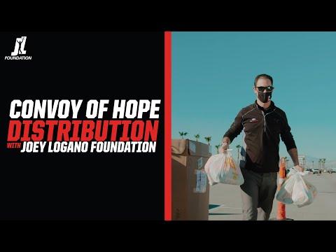 Joey Logano Foundation Convoy of Hope at Las Vegas