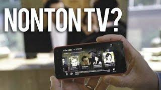 CARA GAMPANG NONTON TV PAKAI HP ANDROID