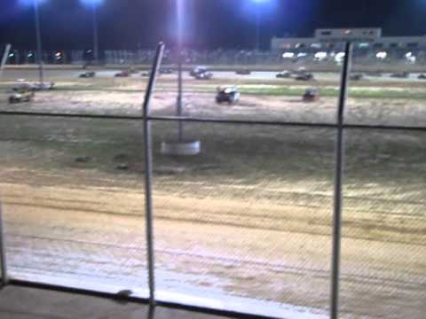 Outlaw Motor Speedway   from last to 1st 3