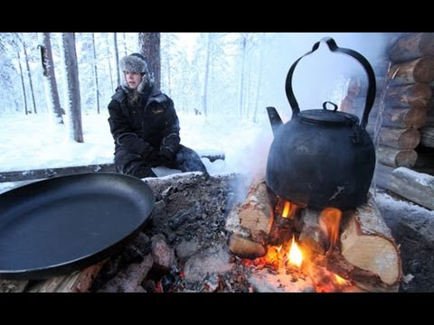 Tim Hayward cooks moose steak and blueberry soup in Norway