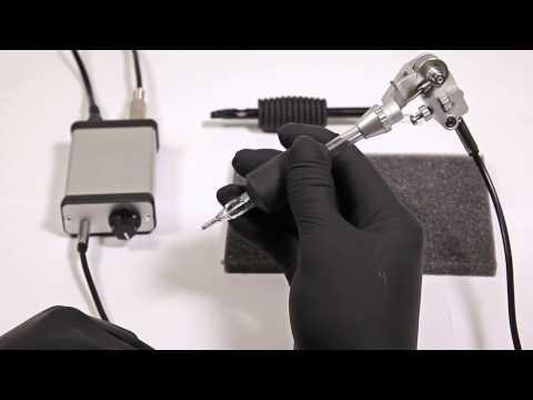 LACEnano Rotary Tattoo Machine - Assembly and Operation - YouTube
