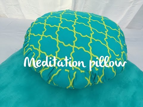 How to make a Meditation Pillow DIY