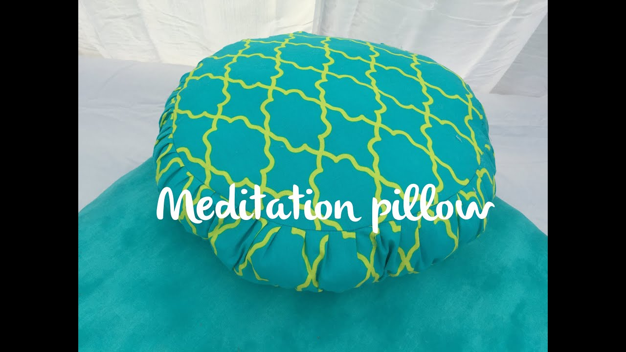 How to make a Meditation Pillow DIY