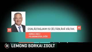 Lemond a polgármesterségről Borkai Zsolt 19-11-06