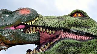 Dinosaur Tyrannosaurus Rex Puppet Toy vs Godzilla Mask? Dinosaurs T Rex Toys For Kids Puppets
