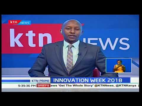 Cabinet secretary for ICT Joe Mucheru launched the fourth Nairobi innovation week