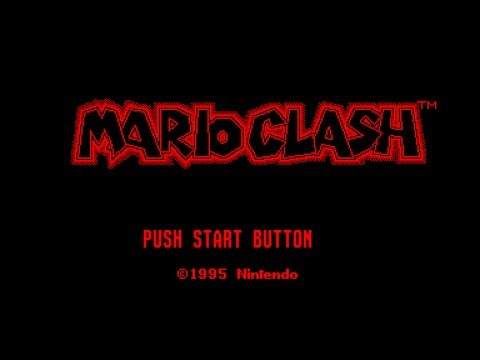 Virtual Boy Longplay [11] Mario Clash (3D)