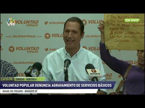 Venezuela - Voluntad Popular denuncia agravamiento de servicios básicos- VPItv