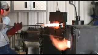 Repeat youtube video The Making of a Spiral Welded Damascus Gun Barrel