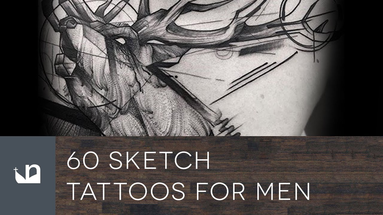 60 Sketch Tattoos For Men