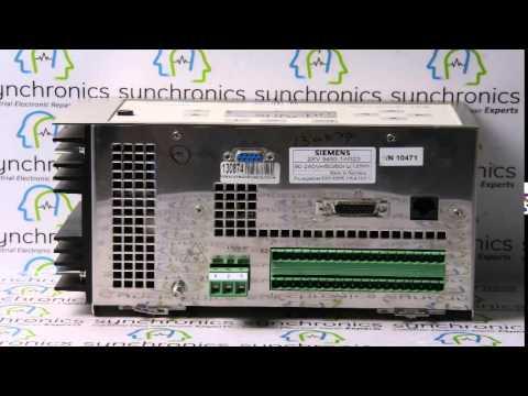 siemens siclock tm 2xv 9450 1ar23 repaired at synchronics rh youtube com siclock tm user manual