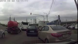 Конфликт на дороге. ДТП Подольск 22 мая 2018