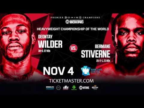 Premier Boxing Champions: Deontay Wilder vs. Bermane Stiverne