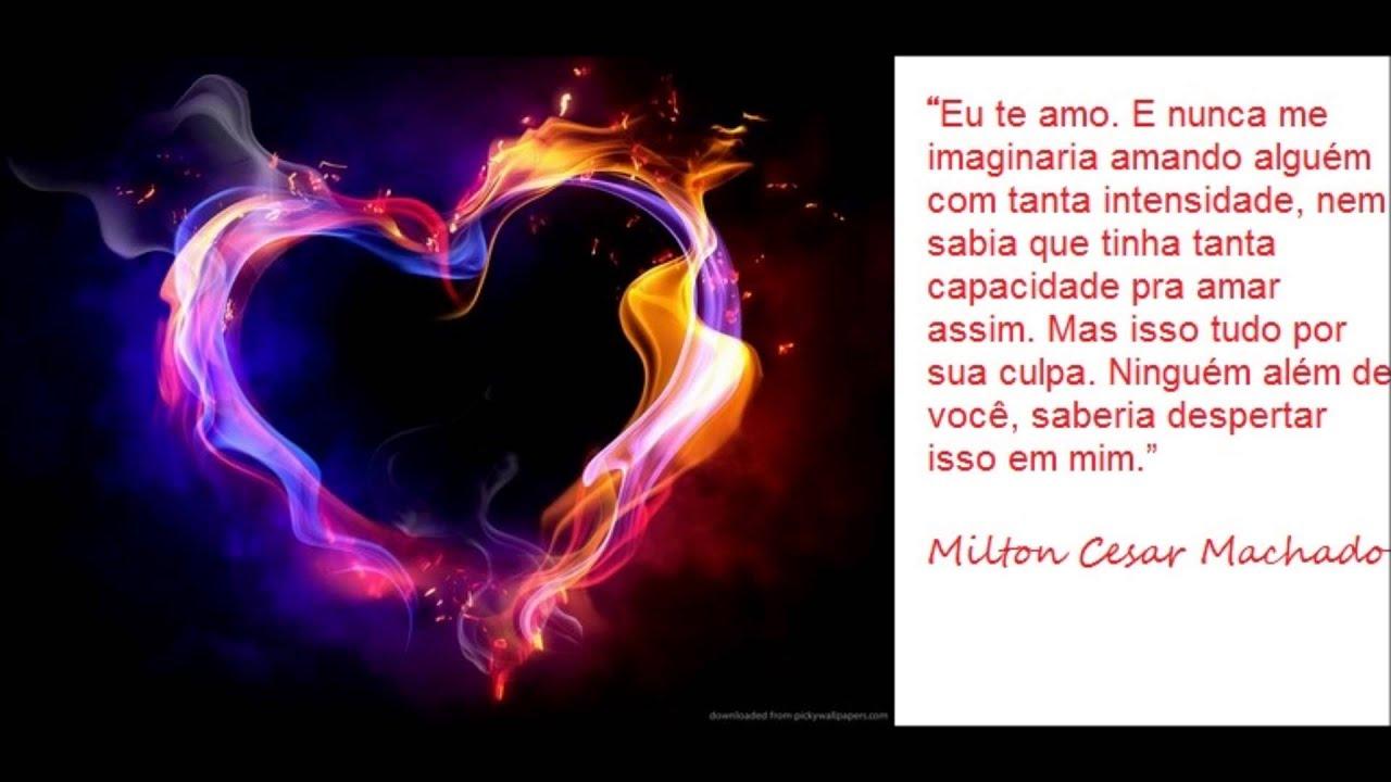 Declaração De Amor: Declaração De Amor De Milton Para Maria. Musica