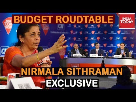 Nirmala Sitharaman Exclusive: Top Industrialists Question FM At India Today Budget Roundtable