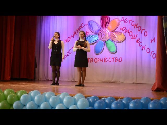 Изображение предпросмотра прочтения – «Алексанян Гаянэ и Шатова Наталья» читают произведение «Баллада о матери» О.Н.Киевской