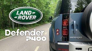 Land Rover Defender в 400 коней - мощь и сила. Разгон 0 - 100