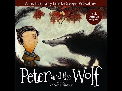 ★ Peter and the Wolf  ★ a musical fairytale Read By Leonard Bernstein  ★
