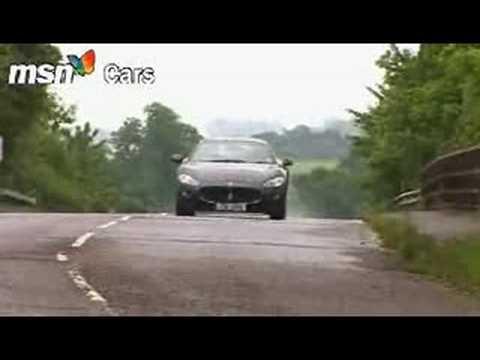 Maserati Gran Turismo MSN Cars test drive