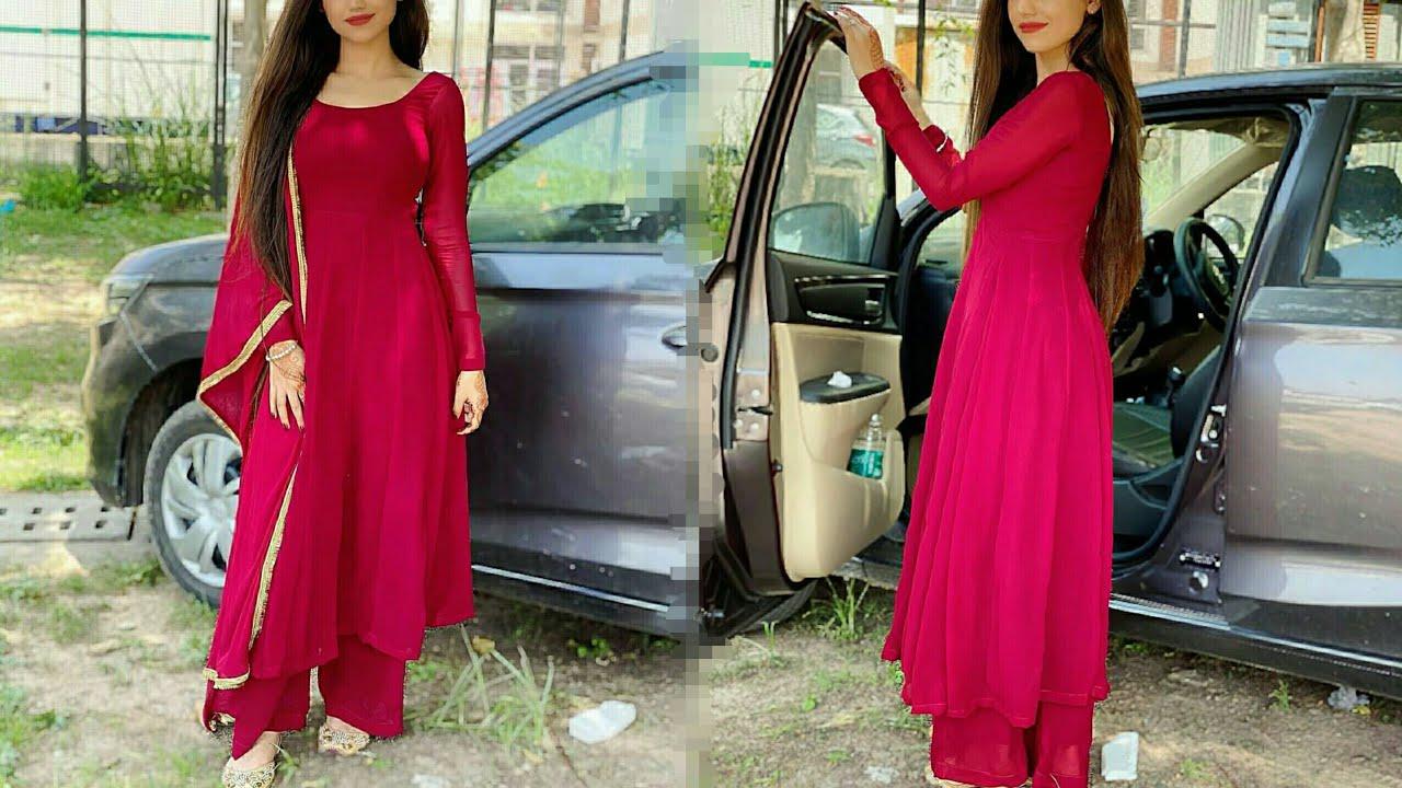 गर्मियों में Plain Fabric से ऐसे सूट ज़रूर बनवाएं #fashion #stylingtips #trendygirl