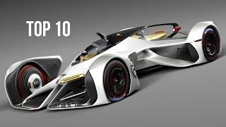 TOP 10 Autos Del Futuro - Los Autos Más Avanzados