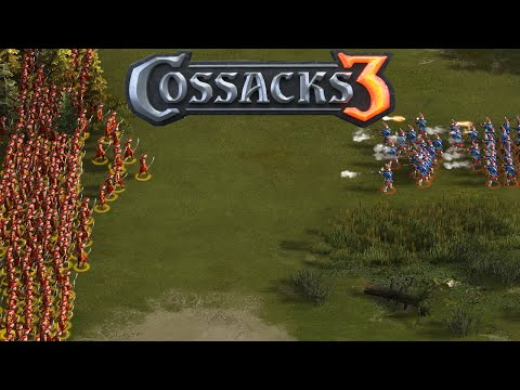 Cossacks 3 Gameplay - Algeria Gameplay 1vs2