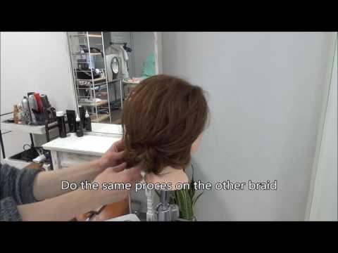 BLANCO MICHAELA #53 Low Boudle Buns /Tokyo Hair Style Salon @Singapore