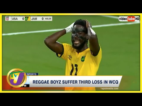 Reggae Boyz Suffer 3rd Lost in World Cup Qualifiers - Oct 8 2021