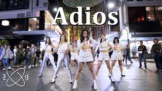 """[KPOP IN PUBLIC CHALLENGE] EVERGLOW (에버글로우) - """"Adios"""" Dance Cover"""