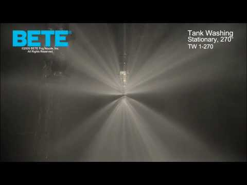 Tank Washing  And Tank Cleaning Spray Nozzles: BETE TW 1-270