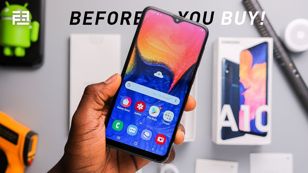 Samsung Galaxy A10 watch this before buying