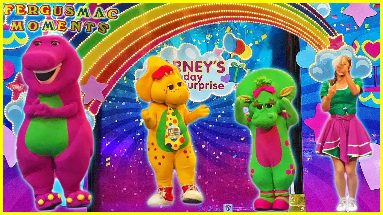 Barney And Friends Birthday Surprise Kids Live Show