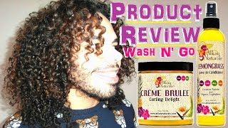 Alikay Naturals Product Review Lemon Grass Leave In Conditioner,creme Brulee Curling Delight