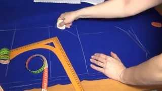 Как кроить пальто без выкройки