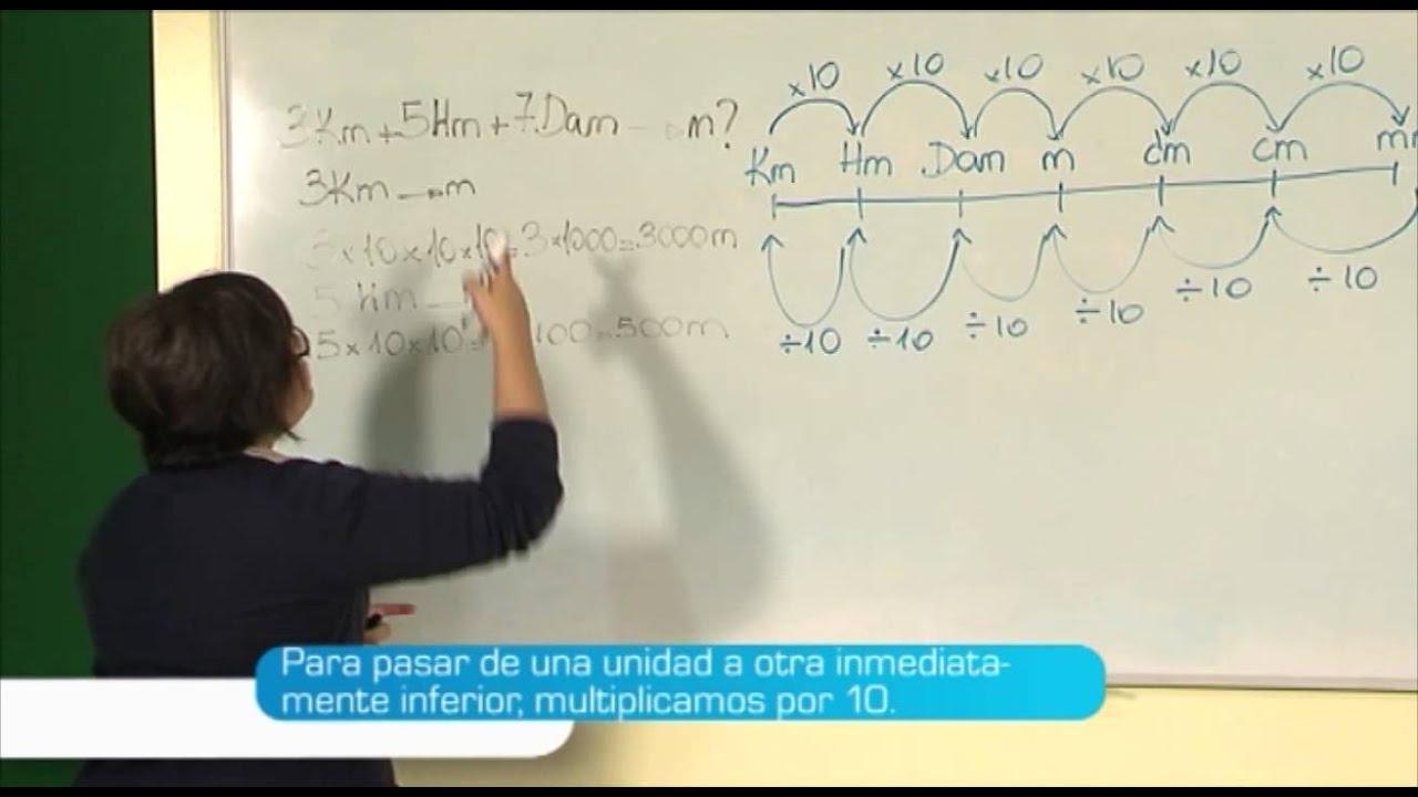 El Sistema Métrico Decimal - Práctica | MasterD - YouTube