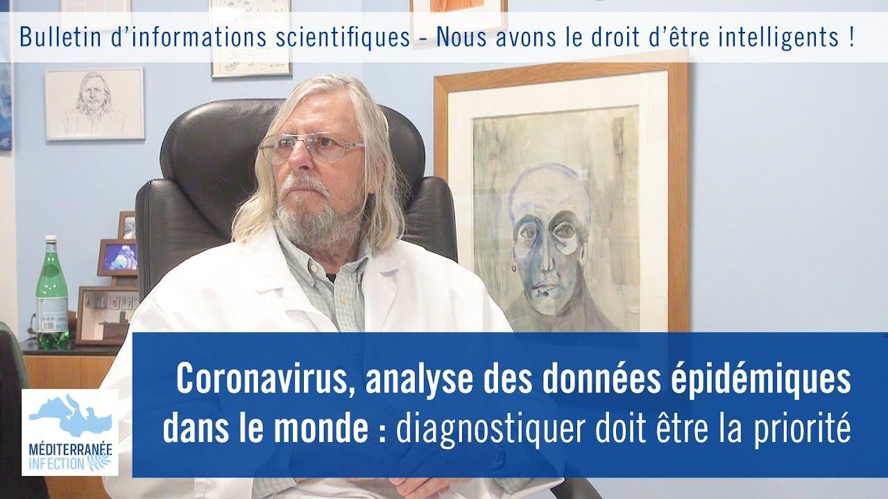 Analyse des données épidémiques  du  Coronavirus !