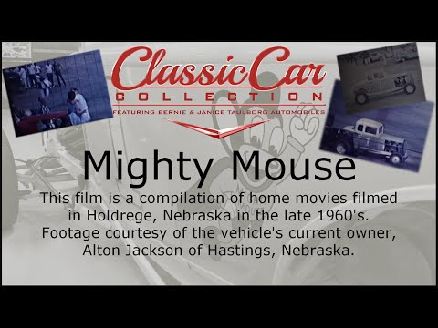 Mighty Mouse Racing Footage